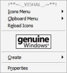 Image in XP Context Menu by Vishal-Gupta