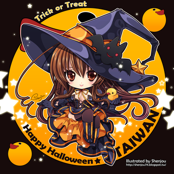 APH:2013 Happy Halloween by Shenjou