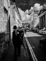 Streets Of Bath -III by InayatShah