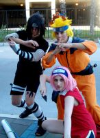 Young Team 7 by ToonTwins