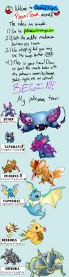Pokemon Fusion Team Meme by SuperCL