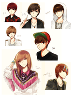ART DUMPS 1: KPOP by Raeyxia