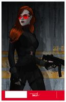 Black Widow -The Scarlett Johansson Film version. by tsbranch