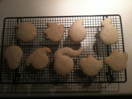 Soul Eater Cookies! (not decorated) by Ninjawriter7