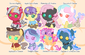 Foal Ship Adoptables #2 -CLOSED- by 9-ToyBonnie