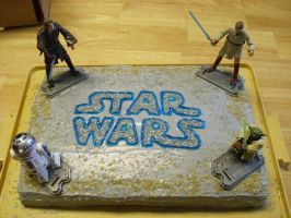 May the Cake Be With You by EpicPseudonym