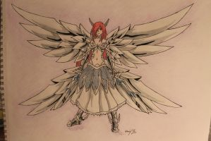 Erza Heaven's Wheel Armor by GIMME-SOME-ONIONS