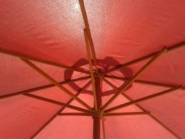 Red Sunshade by MasterTeska