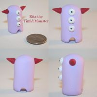 Rita the Timid Monster by TimidMonsters