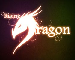Rising Dragon logo by JKirckof
