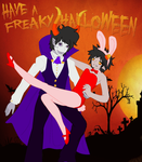 GamKat Halloween Contest Entry by WickedTurkGirl