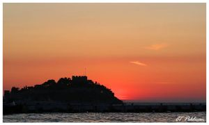 Kusadasi Castle Sunset by CTP