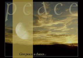 Give peace a chance by lotus82