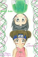 N- Rock Lee and Tenten by tailsprowerlover