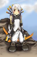 Chibi-Haseo 4th form by Darkpsycho1000