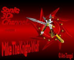 Sonic Channel: Mike the wolf by Black-Arg