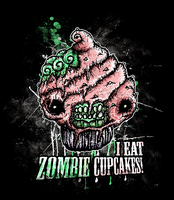 I Eat Zombie Cupcakes by Horrors-of-Kain