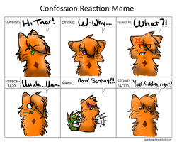 Reaction meme by MarbleMyst