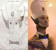 Before and after by Zedig