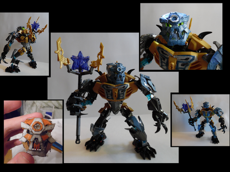 Guardian of Earth Temple (SkullGuardian) MOC by Veanakart
