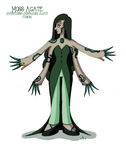 Moss Agate by Cartoon-Trash