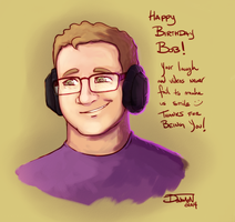 Happy Birthday Bob! by Donomon