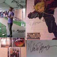 Vic Mignogna Collage MTAC 2011 by Anime-Kat2002