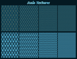 Scale Pattern Textures by DeviantRoze