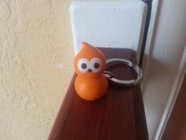 cute little zingy keyring (edf energy) by NoMoreThanMe