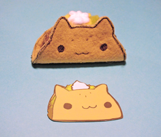 Cat Taco by KindlyGrim