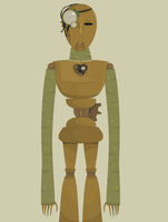 Steampunk Robot by Miserable-in-Orange