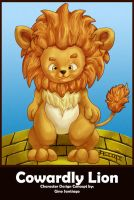 The Cowardly Lion by floopate