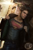 Superboy From Man of Steel by Maryneim