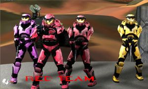 Red Team by Robotlouisstevenson