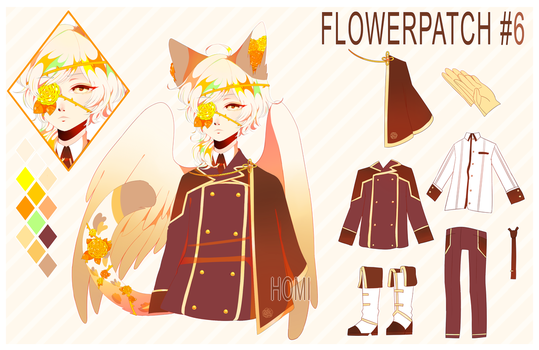 FLOWERPATCH #6 [AUCTION//CLOSED] by homiboo