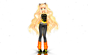~MMD NC Casual SeeU~ by cherrybreeze13