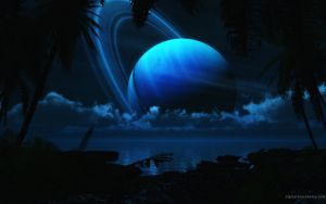 Tropical Moon by dblasphemy