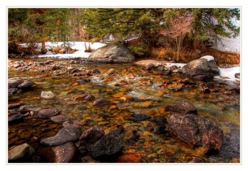 Mountain Stream by FasterThanChris
