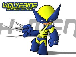 Wolverine - BainesStyle by bainesyfellah