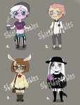 Adoptables Auction - OPEN [2/4] by Shieldoptables