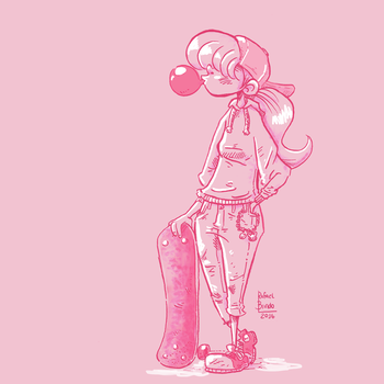 Skate girl by rfl-obc