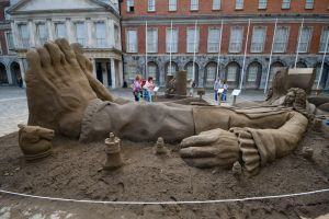 Dublin Castle Sand 1 by CoolADN