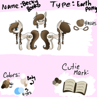 Becky Books Ref Sheet by Black-Rose-Emy