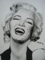 Marilyn Monroe by bellexq