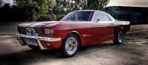 1966 Ford Mustang by TheImNobody