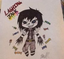 Laughing jack chibi by sierrahanimelover