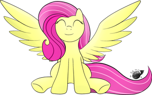 30mc#13 : Fluttershy by SetoNLR