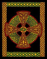 Autumn Celtic Faith by merlynhawk