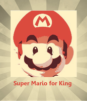 Super Mario Retro Poster pop art by DevintheCool