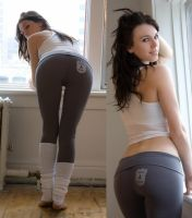 Yoga Pants - USDA Grade A by Nayias01